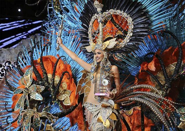 Teneriffa hat gewählt: die Karnevalskönigin 2014