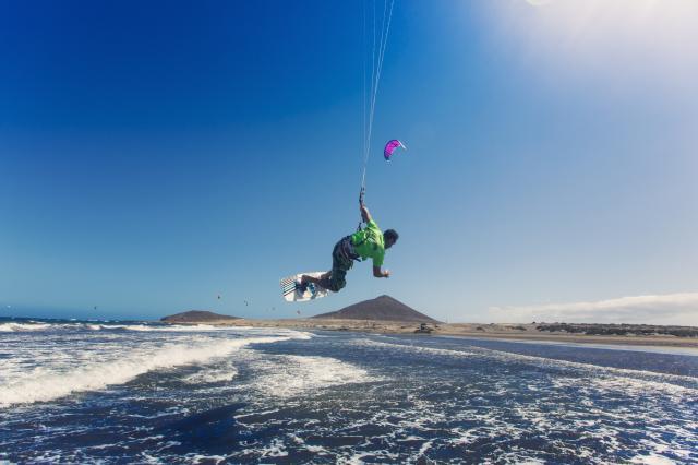 Kitesurfen auf Teneriffa