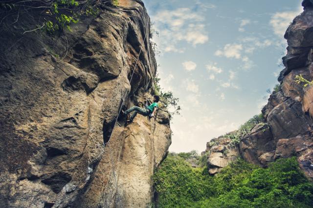 Klettern auf Teneriffa